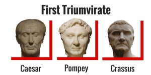 First Triumvirate