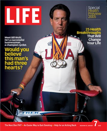 Life Magazine cover, This man has three hearts Jan 1971