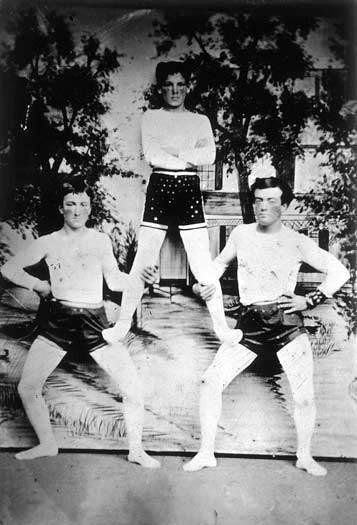 Three Acrobats