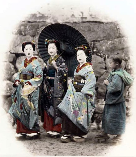 Three Women and a Girl