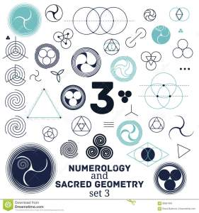 Sacred Geometry And Numerology Symbols