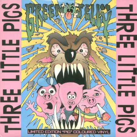 green jelly Three Little Pigs