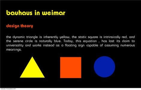 bauhaus philosophy