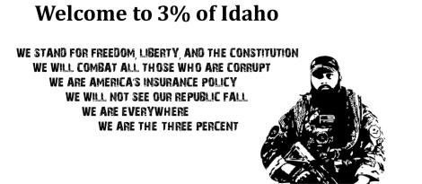 3 percent of Idaho