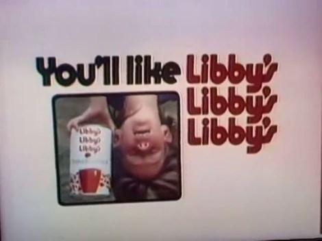 1974 Libby's Libby's Libby's TV commercial thumbnail
