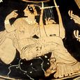Thumbnail Muse with Lyre
