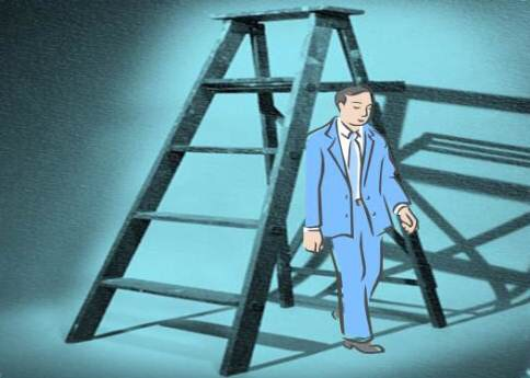 Superstition – walking under a ladder