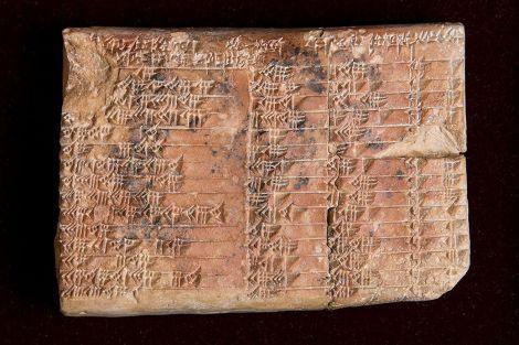 plimpton 322 tablet