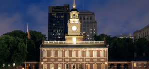 Independence Hall of the White House triglyphs