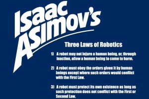 The three laws of robots