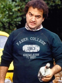 Knowledge is good, John Belushi, Animal House