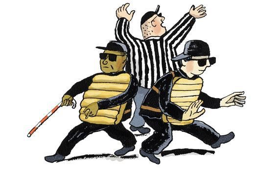 Three Blind Umpires