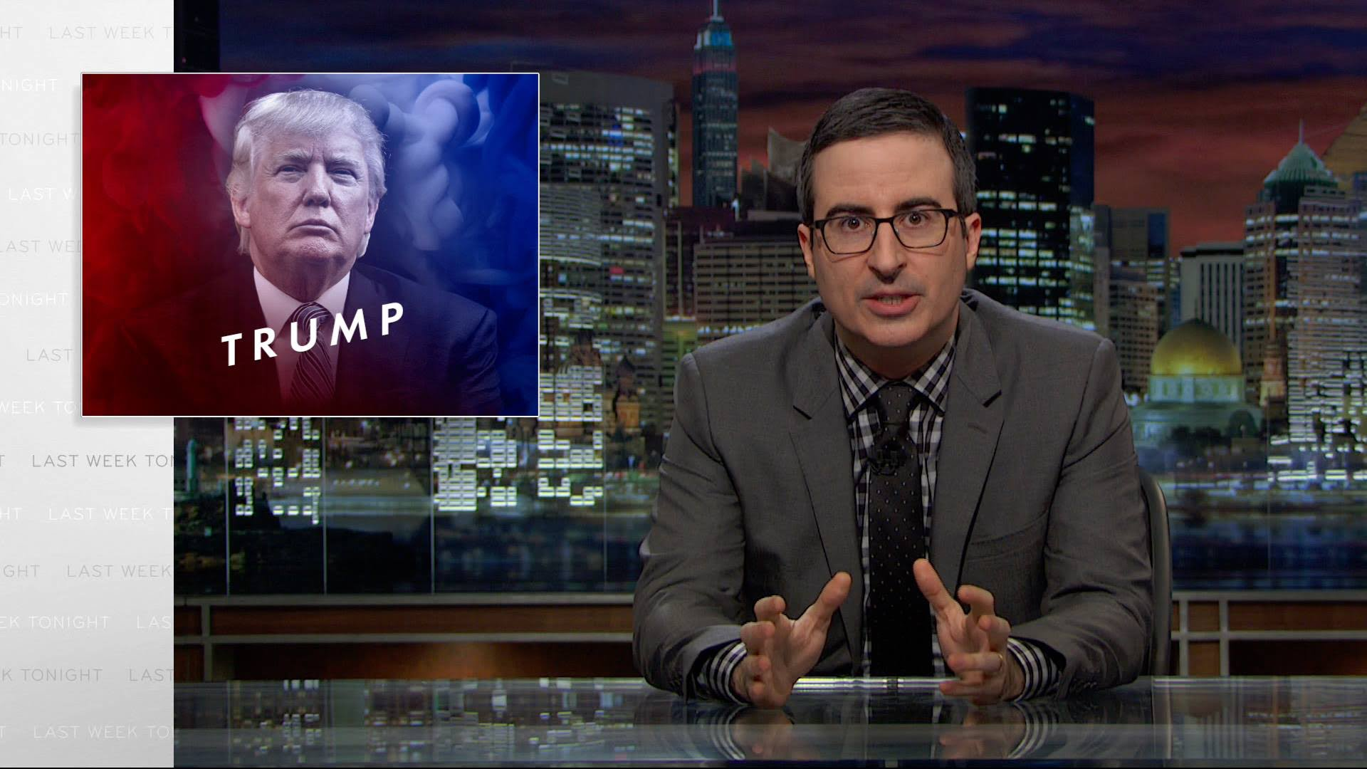 Donald Trump – Delegitimize the Media, Whataboutism, Trolling – John Oliver on Last Week Tonight