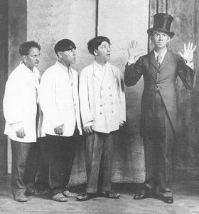 The Three Stooges were founded by a vaudeville performer named Ted Healy