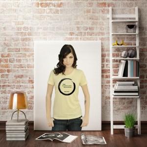 Inspirational Zen T-Shirt About Comfort Saying