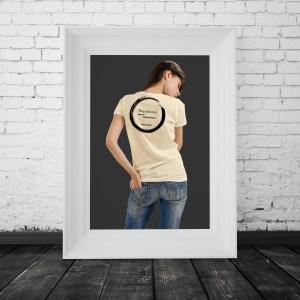 Inspirational Zen T-Shirt About Happiness Saying