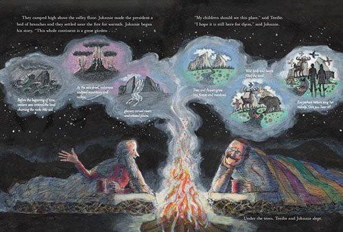 Muir describing the wilderness. Mordicai Gerstein.