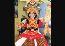 New Indian Express talks about Bookosmia's children book Yaksha, a joint project with acclaimed Yakshagana artist Priyanka Mohan