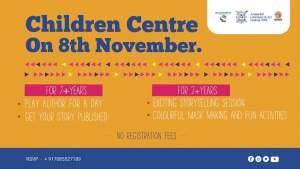 Bookosmias Children Centre at Arunachal Pradesh Lit Fest