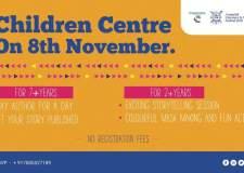 Bookosmia's Children Centre at Arunachal Pradesh Lit Fest on 8th Nov'19