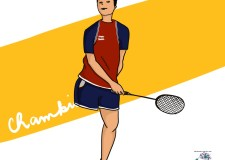 #Sara's 'Be a sport' series: The superhero of Badminton