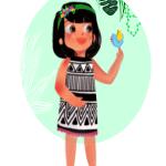 Nature with Sara activities for kids Bookosmia