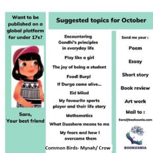 Oct Topics Write to Sara Bookosmia