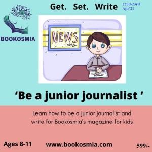 Be a Junior Journalist