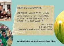 'Open up ..to the many different kinds of people in the world,' says Priti David, editor PARI Education