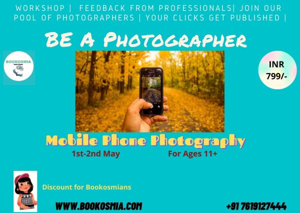 Photography Workshop for kids by Bookosmia