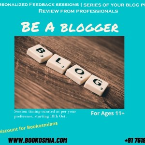 Blogger Workshop Bookosmia