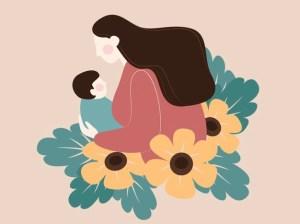 I love you Mom Womens Day Bookosmia