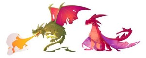 Adventures of the dragon family