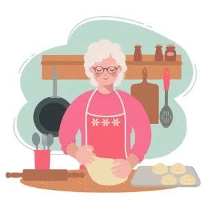Missing grandma and her recipes