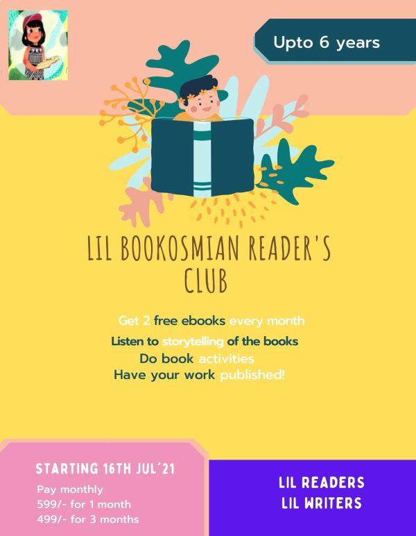 Little Readers Club Bookosmia