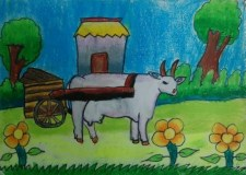 Childhood Story – My Mom's Bullock Cart Adventure | Bookosmia
