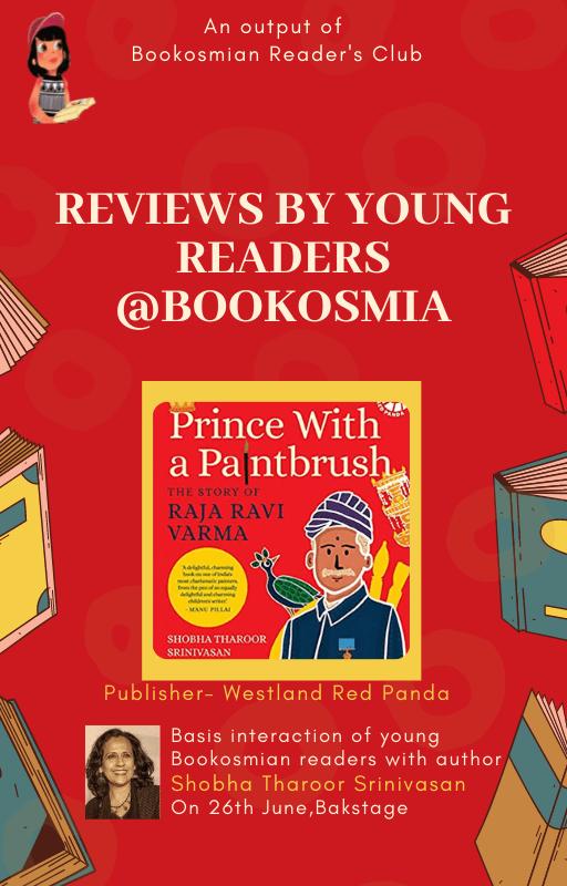 Raja Ravi Varma Book Review by kids