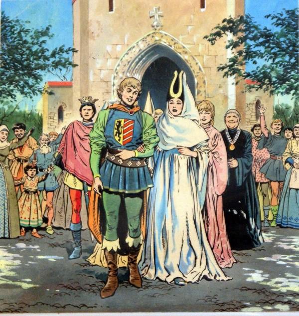 Fairytale Marriage Original Sleeping Beauty Blasco