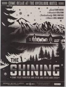 Alternative Movie Posters Shining Book Patrol