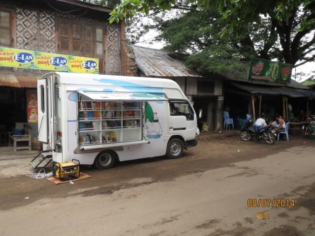Myanmar mobile library
