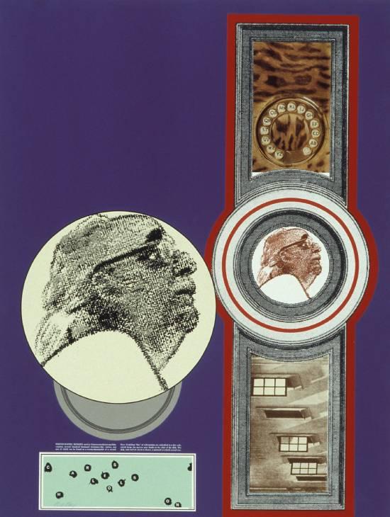 Charles Olson 1966-70 by R.B. Kitaj 1932-2007