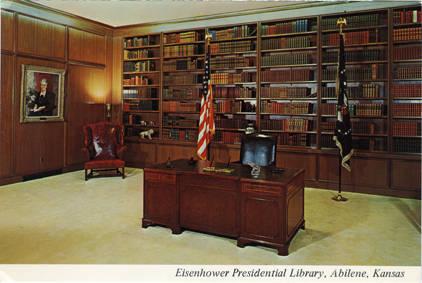 Eisenhower_Presidential_Library_Presidential_Room_Abilene_Kansas