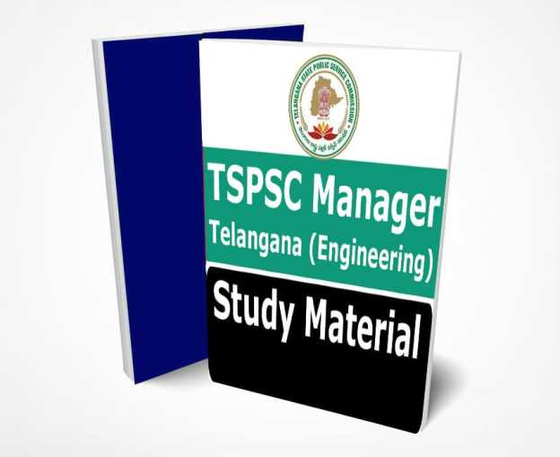 TSPSC Manager Notes 2021: Download TSPSC Manager Study Materials