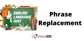 Phrase Replacement Exercise Notes 2021 Download Study Materials BOOK PDF