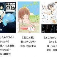 Renta!「2018年年間電子書籍売り上げランキング」 少女漫画は『ねねね』、少年漫画は『転生したらスライムだった件』が1位