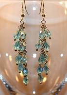 Earrings Blue Free Use