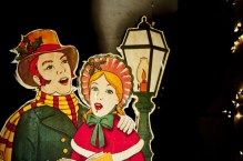 Christmas Carolers Dickens Free Use