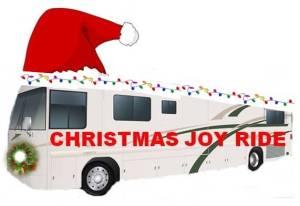 Christmas Joy Ride RV Decorated Free Use