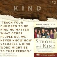 Stong and Kind, Be Kind