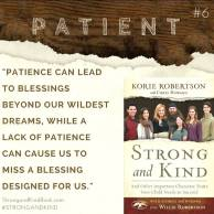 Strong and Kind Patient